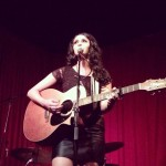 Anahita Skye seducing the crowd @ Hotel Cafe