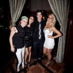 Myself with the very talented Diana Meyer, Anahita Skye and Anjelia Pelay